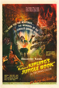 "Movie Posters:Adventure, Jungle Book (United Artists, 1942). One Sheet (27"" X 41"").. ..."