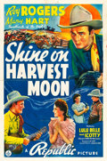 "Movie Posters:Western, Shine On Harvest Moon (Republic, 1938). One Sheet (27"" X 41"").. ..."