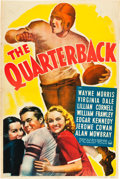 "Movie Posters:Drama, The Quarterback (Paramount, 1940). One Sheet (27"" X 41"").. ..."