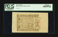 Colonial Notes:Rhode Island, Rhode Island May 1786 20s PCGS Gem New 66PPQ.. ...