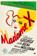 """Movie Posters:Drama, Madame X (MGM, 1937). One Sheet (27"""" X 41"""") Style C.. ..."""