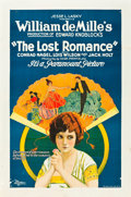 "Movie Posters:Drama, The Lost Romance (Paramount, 1921). One Sheet (27"" X 41"") Style B....."