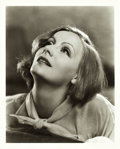"Movie Posters:Drama, Greta Garbo in As You Desire Me by Clarence Sinclair Bull (MGM,1932). Portrait Photo (8"" X 10"").. ..."