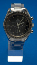 Timepieces:Wristwatch, Omega 145.022 ST 71 Steel Speedmaster Professional Moon Watch. ...