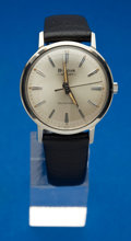 "Timepieces:Wristwatch, Bulova ""Aerojet"" New/Old Stock Steel Automatic. ..."