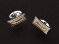 "Estate Jewelry:Cufflinks, Pair Of 18K Gold Cufflinks By ""Chimento"". ..."
