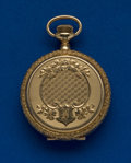 Timepieces:Pocket (post 1900), Waltham 14k Gold 33 mm Pocket Watch. ...