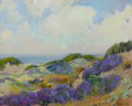 American:Impressionism, GEORGE DEMONT OTIS (American, 1879-1962). Springtime in theDunes. Oil on canvas. 24 x 30 inches (61.0 x 76.2 cm). Signe...