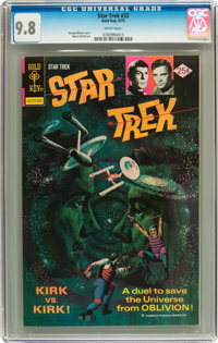 Star Trek #33 (Gold Key, 1975) CGC NM/MT 9.8 White pages