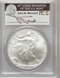 Modern Bullion Coins, 2007-W $1 Silver Eagle MS70 PCGS. PCGS Population (3052). NGCCensus: (11461). Numismedia Wsl. Price for problem free NGC/...