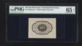 Fractional Currency:First Issue, Fr. 1243SP 10¢ First Issue PMG Gem Uncirculated 65 EPQ.. ...