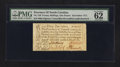 Colonial Notes:North Carolina, North Carolina December, 1771 £1 PMG Uncirculated 62.. ...
