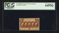 Fractional Currency:First Issue, Fr. 1282SP 25¢ First Issue Narrow Margin Face PCGS Very Choice New 64PPQ.. ...