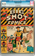 Golden Age (1938-1955):Miscellaneous, Big Shot Comics #6 Billy Wright pedigree (Columbia, 1940) CGC NM- 9.2 Off-white to white pages....
