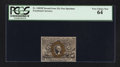 Fractional Currency:Second Issue, Fr. 1283SP 25¢ Second Issue Narrow Margin Face PCGS Very Choice New 64.. ...
