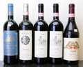Italy, Barolo. NV Chinato, Cappellano vhs, bsl Bottle (1). 1995Fratelli Revello lbsl Bottle (1). 2004 Rocc... (Total: 5Btls. )