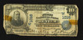 National Bank Notes:Colorado, Denver, CO - $10 1902 Plain Back Fr. 624 The First NB Ch. #(W)1016. ...