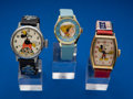 Timepieces:Wristwatch, Three Character Wristwatches. ... (Total: 3 Items)