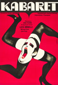 "Movie Posters:Musical, Cabaret (Allied Artists, 1973). Polish One Sheet (22.75"" X 33"")....."