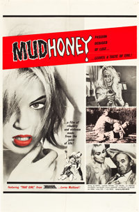"""Mudhoney (Eve Productions, 1965). One Sheets (2) (27"""" X 41"""") Style A and Style B. ... (Total: 2 Items)"""