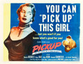 "Movie Posters:Bad Girl, Pickup (Columbia, 1951). Half Sheet (22"" X 28"").. ..."