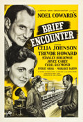 "Movie Posters:Romance, Brief Encounter (Rank, R-1950s). British One Sheet (27"" X 40"")....."