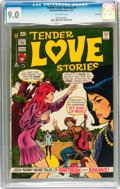 Bronze Age (1970-1979):Romance, Tender Love Stories #1 Savannah pedigree (Skywald, 1971) CGC VF/NM9.0 Off-white pages....