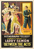 "Movie Posters:Comedy, Between the Acts (Vitagraph, 1919). One Sheet (28"" X 41"").. ..."