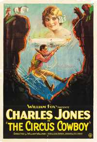 "Circus Cowboy (Fox, 1924). One Sheet (28 "" X 41"")"