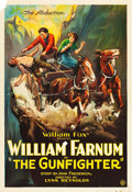 "Movie Posters:Western, The Gunfighter (Fox, 1923). One Sheet (27"" X 41"").. ..."
