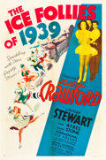 """Movie Posters:Musical, The Ice Follies of 1939 (MGM, 1939). One Sheet (27"""" X 41"""") Style C.. ..."""