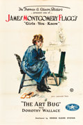 "Movie Posters:Comedy, James Montgomery Flagg's The Art Bug (George Kleine System, 1918).One Sheet (28"" X 42"").. ..."