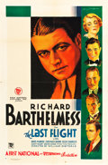 "Movie Posters:Drama, The Last Flight (First National, 1931). One Sheet (27"" X 41"") Style A.. ..."