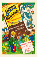 "Movie Posters:Animation, Merrie Melodies (Warner Brothers, 1941). Stock One Sheet (27"" X41"").. ..."