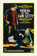 "Movie Posters:Adventure, Moran of the Lady Letty (Paramount, 1922). One Sheet (27"" X 41"")....."
