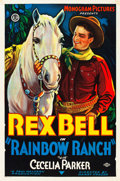 "Movie Posters:Western, Rainbow Ranch (Monogram, 1933). One Sheet (27"" X 41"").. ..."