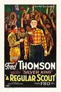 """Movie Posters:Action, A Regular Scout (FBO, 1926). One Sheet (27"""" X 41"""") Style A.. ..."""