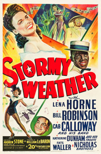 "Stormy Weather (20th Century Fox, 1943). One Sheet (27"" X 41"")"