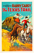 "Movie Posters:Western, The Texas Trail (PDC, 1925). One Sheet (27"" X 41"") Style B.. ..."