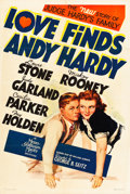 """Movie Posters:Comedy, Love Finds Andy Hardy (MGM, 1938). One Sheet (27"""" X 41"""") Style C.. ..."""
