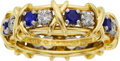 Estate Jewelry:Rings, Diamond, Sapphire, Platinum, Gold Ring, Schlumberger for Tiffany& Co.. ...