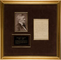 Autographs:Artists, Richard Wagner Autograph Letter Signed. ...