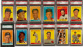 Baseball Cards:Sets, 1958 Topps Baseball Complete Set (494) Plus Team Emblem and Contest Cards. ...