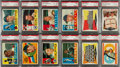 Baseball Cards:Sets, 1960 Topps Baseball High Grade Near Set (563/572)....