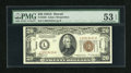 Small Size:World War II Emergency Notes, Fr. 2305 $20 1934A Hawaii Federal Reserve Note. PMG About Uncirculated 53 EPQ.. ...