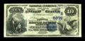 National Bank Notes:Kentucky, Frankfort, KY - $10 1882 Value Back Fr. 577 The National BranchBank of Kentucky Ch. # (S)5376. ...