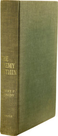 Books:Signed Editions, Robert F. Kennedy: Signed The Enemy Within. (New York: Harper & Brothers, 1960), 338 pages, olive green boards with gilt... (Total: 1 Item)