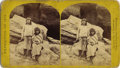Photography:Stereo Cards, SET OF TWO NATIVE AMERICAN INDIAN STEREOGRAPHS FROM LIEUTENANT GEORGE WHEELER'S EXPEDITION OF 1873 ca.1875. This set of two ... (Total: 1 Item)