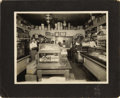 """Photography:Cabinet Photos, EARLY CALIFORNIA SHOPKEEPERS. Sharp 10"""" x 8½"""" image of the interiorof Bullard's General Store in Dobbins, CA, near the his... (Total:1 Item)"""