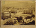 "Photography:Cabinet Photos, STUNNING LOCKE & McBRIDE PHOTOGRAPH OF HOT SPRINGS NORTHDAKOTA. This 9¼"" x 7"" city view of Hot Springs was taken byDeadwo... (Total: 1 Item)"